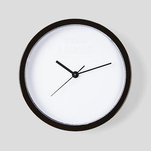 Team LOGAN, life time member Wall Clock