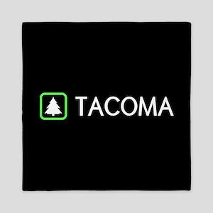Tacoma, Washington Queen Duvet