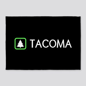 Tacoma, Washington 5'x7'Area Rug