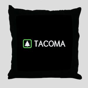 Tacoma, Washington Throw Pillow