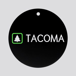 Tacoma, Washington Round Ornament