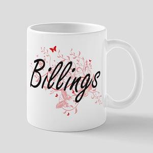 Billings Montana City Artistic design with bu Mugs