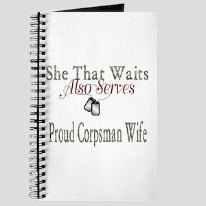 proud corpsman wife Journal
