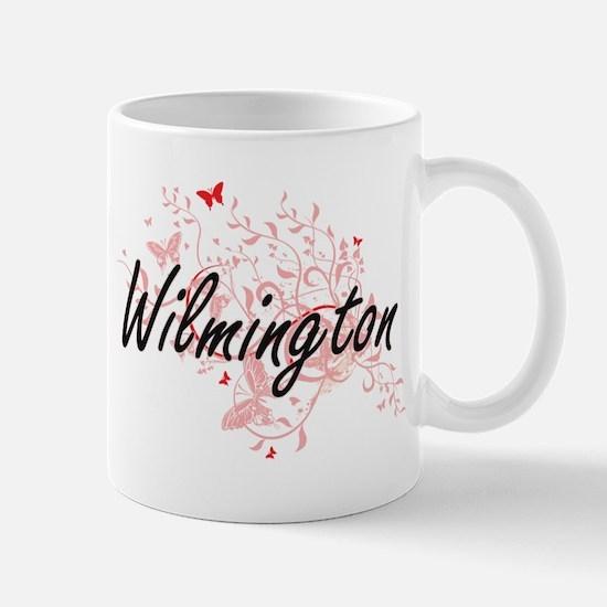 Wilmington North Carolina City Artistic desig Mugs
