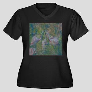 Flamingo Gathering Place Plus Size T-Shirt