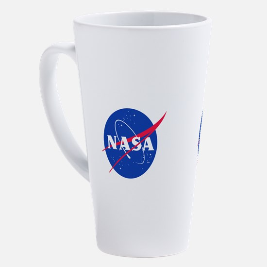 Cute Satellite 17 oz Latte Mug
