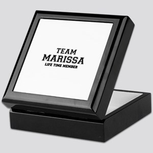 Team MARISA, life time member Keepsake Box
