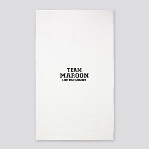Team MAROON, life time member Area Rug