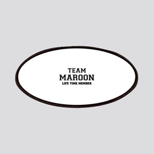 Team MAROON, life time member Patch