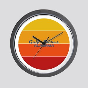Alabama - Gulf Shores Wall Clock