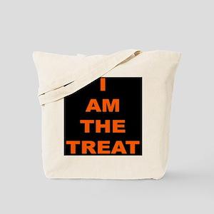 I AM THE TREAT (BLK) Tote Bag