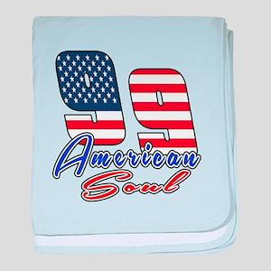 99 American Soul Birthday Designs baby blanket