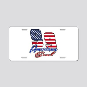 99 American Soul Birthday D Aluminum License Plate