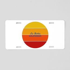 California - La Jolla Aluminum License Plate