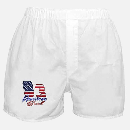 93 American Soul Birthday Designs Boxer Shorts