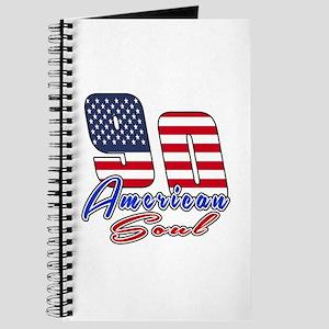 90 American Soul Birthday Designs Journal