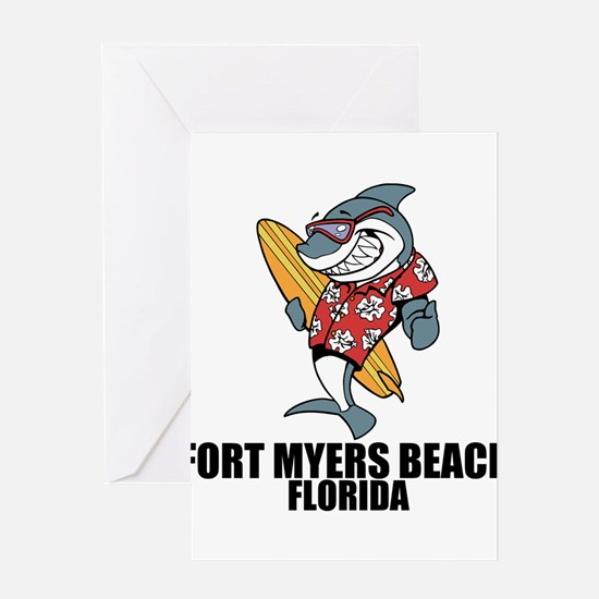 Fort Myers Beach, Florida Greeting Cards