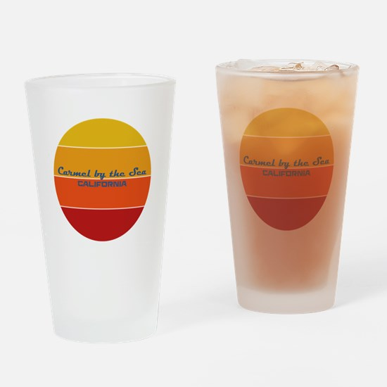 California - Carmel by the Sea Drinking Glass