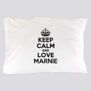 Keep Calm and Love MARNIE Pillow Case