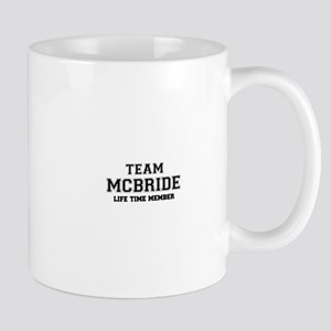 Team MCBRIDE, life time member Mugs