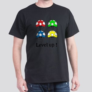 Mushrooms - level up ! T-Shirt