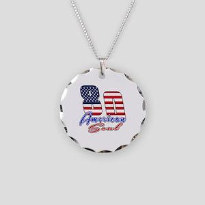 80 American Soul Birthday De Necklace Circle Charm