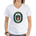 USS Austin (LPD 4) Women's V-Neck T-Shirt