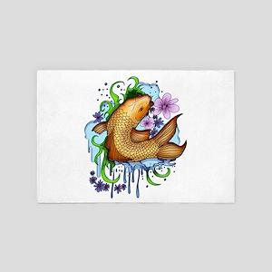 Koi Fish 4' x 6' Rug