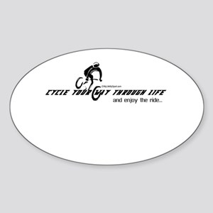 cycle your way through life-and enjoy the ride Sti