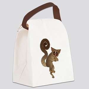 African bush baby Canvas Lunch Bag