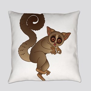 African bush baby Everyday Pillow