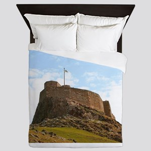 Lindisfarne Castle, Holy Island, North Queen Duvet