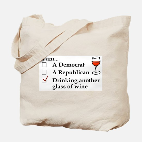 Cool Funny political Tote Bag