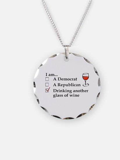 Funny Politics Necklace