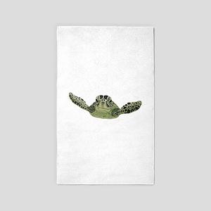 Green Sea Turtle Area Rug