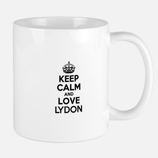 Keep Calm and Love LYDON Mugs