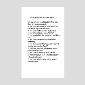 10 Sign of a True Darter Sticker