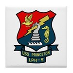 USS Princeton (LPH 5) Tile Coaster