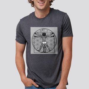 Vitruvian Flower of Life T-Shirt