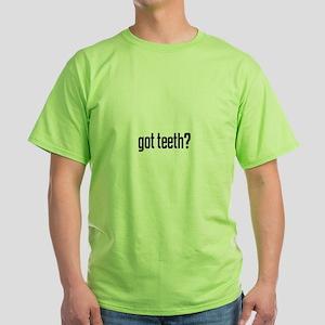 got teeth? Ash Grey T-Shirt