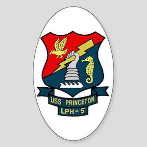 USS Princeton (LPH 5) Oval Sticker