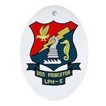 USS Princeton (LPH 5) Oval Ornament