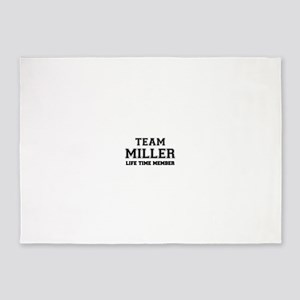 Team MILLER, life time member 5'x7'Area Rug