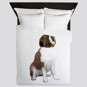 Saint Bernard (#1) Queen Duvet