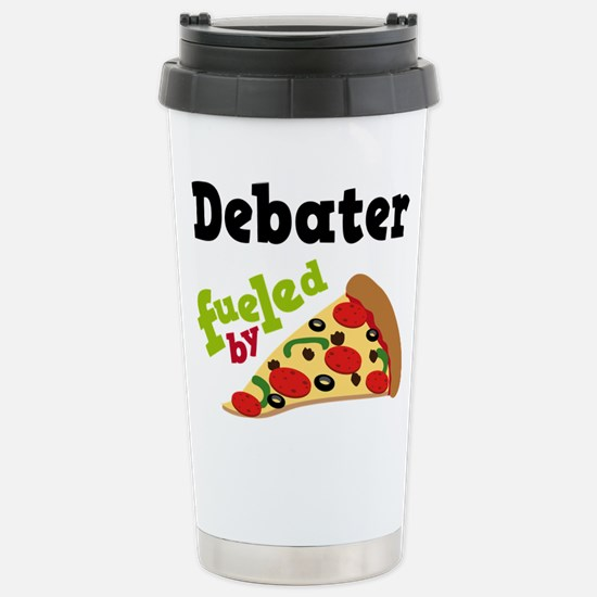 Debater Funny Pizza Mugs