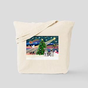 Xmas Magic & Min S Tote Bag