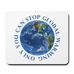 Stop Global Warming Ecology Mousepad