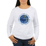 Stop Global Warming Ecology Women's Long Sleeve T-