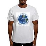 Stop Global Warming Ecology Light T-Shirt
