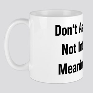 Meaningless Sex Mug
